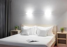 Маринс Парк Отель Нижний Новгород (рядом с Нижегородской ярмаркой) Улучшенный номер с кроватью размера «king-size»