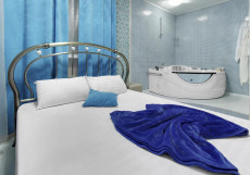Рандеву Новослободская (Тематический Отель для свиданий с джакузи) Двухместный номер Делюкс с 1 кроватью с Джакузи