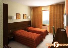 ЯХРОМА спортивно-развлекательный парк   коттеджи   баня   шале 2-местный номер (гостиница