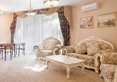 ЕВРОПА ПАРК-ОТЕЛЬ (г. Белгород, сосновый бор) Люкс 2-комнатный «Палермо»