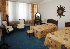 СОЛНЦЕ (рядом с Сибэкспоцентром) Студия (две кровати), гостиная-холл