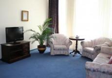 СОЛНЦЕ (рядом с Сибэкспоцентром) Люкс 3- комнатный: гостиная, спальня (семейная кровать), кабинет