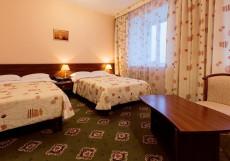 На семи холмах | Ханты-Мансийск | Биатлонная трасса | Горнолыжный спуск | Включён завтрак Стандарт двухместный (2 кровати)