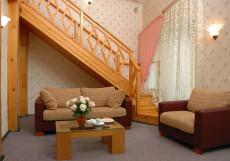 АЛМАЗ (г.Челябинск, парковая зона) Двухуровневый люкс с мансардой
