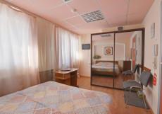 ПАТИО | Тольятти | Центр | Парковка Эконом двухместный (1 двуспальная или 2 односпальные кровати)
