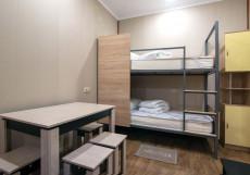Пятницкий Хостел - Pyatnitsky Hostel (Возле Крокус Экспо) Кровать в 8-местном общем номере (для мужчин)