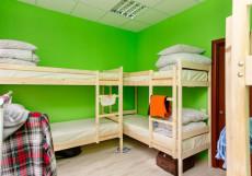 Hostel Sloboda на НОВОСЛОБОДСКОЙ | м. Менделеевская | Wi-Fi Кровать в 6-ти местном номере