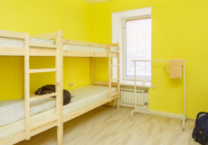 Hostel Sloboda на НОВОСЛОБОДСКОЙ | м. Менделеевская | Wi-Fi Кровать в 8-ми местном номере