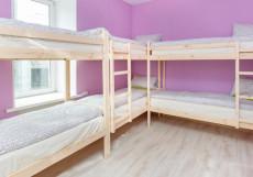 Hostel Sloboda на НОВОСЛОБОДСКОЙ | м. Менделеевская | Wi-Fi Кровать в 8-ми местном номере для женщин