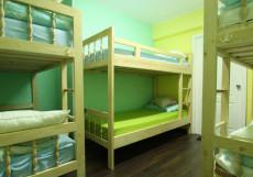 COME & GO Хостел (м. Новокузнецкая, Третьяковская) Кровать в общем 8-миместном номере