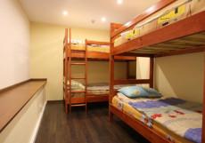 COME & GO Хостел (м. Новокузнецкая, Третьяковская) Кровать в общем 4-хместном номере