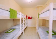 БМ ХОСТЕЛ КРАСНАЯ ПРЕСНЯ (м. Улица 1905 года) Кровать в общем номере  с 8 кроватями
