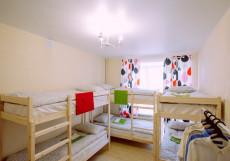 БМ ХОСТЕЛ КРАСНАЯ ПРЕСНЯ (м. Улица 1905 года) Кровать в общем номере с 6 кроватями