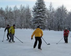 СОЛНЕЧНАЯ ПОЛЯНА | ПОДМОСКОВЬЕ | катание | горнолыжная трасса | покататься | хоккей