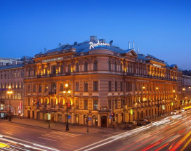 РЭДДИССОН РОЙАЛ Блу - Radisson Royal Hotel | м. Маяковская