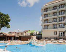 Ахиллеон - Парк Бутик Отель | пос. Кабардинка | открытый бассейн | детская площадка