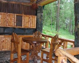 Лесная дача | лыжный подъемник | озеро | предгорья Алтая