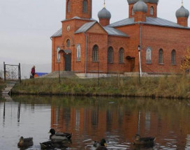 Ковчег | пруд | лесопарк | Пантелеймоновский собор