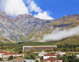 Rooms Hotel Kazbegi | Румс Готель | Казбеги | река Терек | конференц-зал |