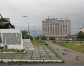 Беломорье | Кандалакша | Центральная площадь | Катание на лыжах