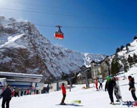 Альпина | Терскол | 100 метров до подъемника | сауна | прокат лошадей
