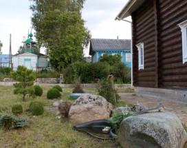 Гостевой дом Звозский берег | г. Кириллов | р. Шексна | Парковка |