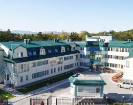Юбилейная   Горнолыжный курорт Горный Воздух   г. Южно-Сахалинск   Парковка