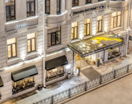 Demetra Art Hotel | м. Чернышевская | Бесплатный Wi-Fi