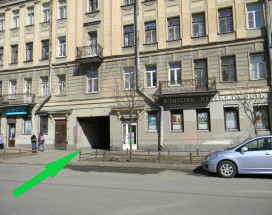 Smolenka House | м. Василеостровская | Парковка
