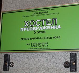 Преображенка | Москва | м. Электрозаводская | Парковка