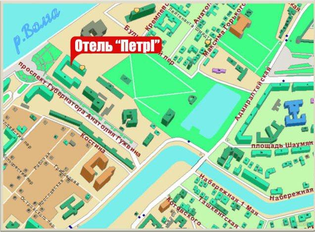 Pogostite.ru - ПЁТР I (г.Астрахань, центр) #2