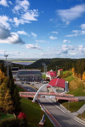 Pogostite.ru - На семи холмах | Ханты-Мансийск | Биатлонная трасса | Горнолыжный спуск | Включён завтрак #38