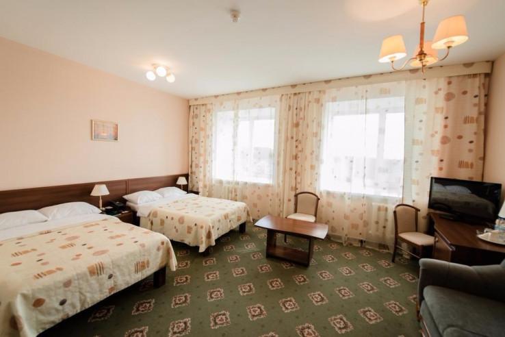 Pogostite.ru - На семи холмах | Ханты-Мансийск | Биатлонная трасса | Горнолыжный спуск | Включён завтрак #11