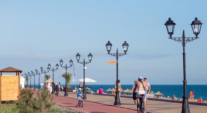 Pogostite.ru - БРИДЖ РЕЗОРТ - BRIDGE RESORT | пляж 1 линия | бассейн #7