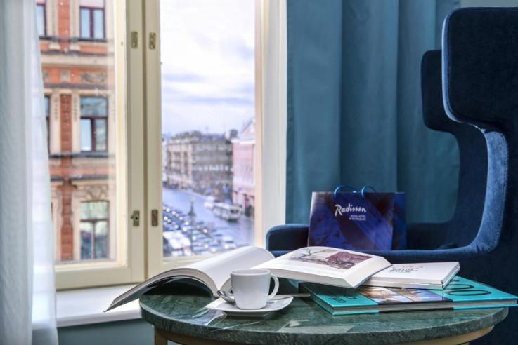 Pogostite.ru - РЭДДИССОН РОЙАЛ Блу - Radisson Royal Hotel | м. Маяковская #10