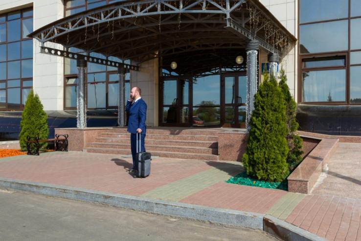 Pogostite.ru - РЕЗИДЕНТ ОТЕЛЬ | г. Дубна, Московская область | Парковка #6