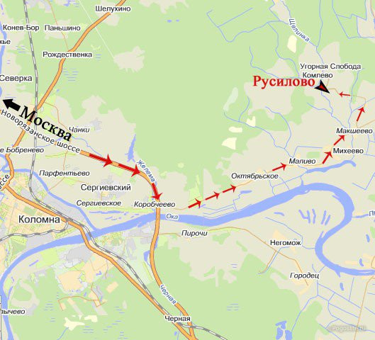 Pogostite.ru - РУСИЛОВО-ДАЧА База Отдыха | Коломенский р-н | Новорязанское шоссе | #28