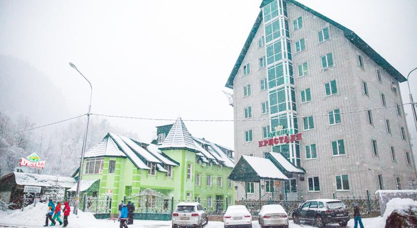 Pogostite.ru - КРИСТАЛЛ (поселок Домбай) #1