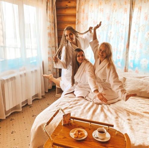 Pogostite.ru - Бережки Холл (Спа отель с бассейном, Коттеджи) #10