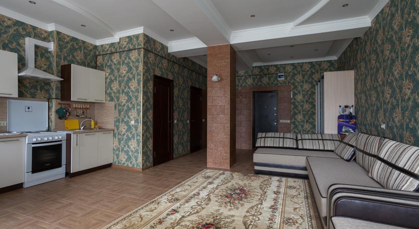 Pogostite.ru - АПАРТАМЕНТЫ ВЕРШИНА (поселок Домбай, 50 м от склона) #13