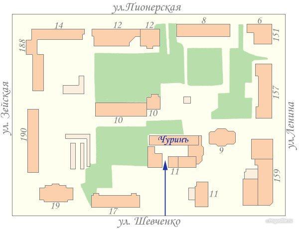 Pogostite.ru - Чуринъ (г. Благовещенск, центр) #2