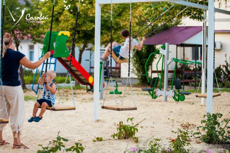 Pogostite.ru - Соловей Пансионат (cобственный песочный пляж | детская площадка) #21
