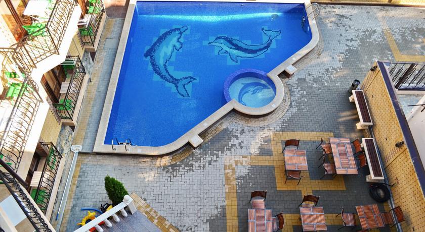 Pogostite.ru - Кастро гостевой дом | пос. Кабардинка | бассейн | детская площадка #7
