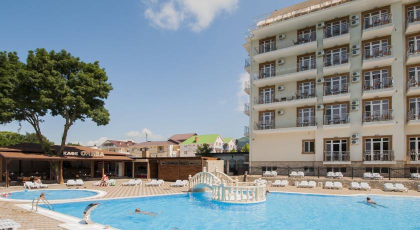 Pogostite.ru - Ахиллеон - Парк Бутик Отель | пос. Кабардинка | открытый бассейн | детская площадка #2
