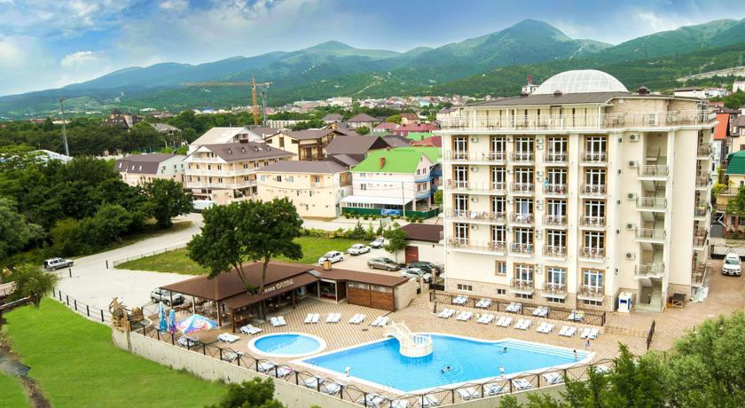 Pogostite.ru - Ахиллеон - Парк Бутик Отель | пос. Кабардинка | открытый бассейн | детская площадка #1