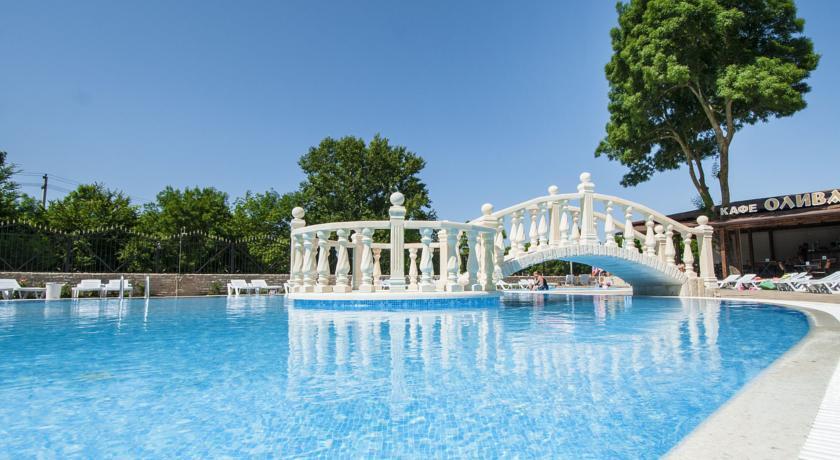 Pogostite.ru - Ахиллеон - Парк Бутик Отель | пос. Кабардинка | открытый бассейн | детская площадка #5