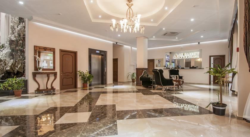 Pogostite.ru - Ахиллеон - Парк Бутик Отель | пос. Кабардинка | открытый бассейн | детская площадка #6