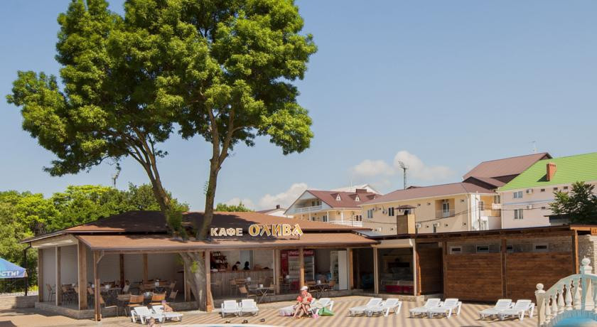 Pogostite.ru - Ахиллеон - Парк Бутик Отель | пос. Кабардинка | открытый бассейн | детская площадка #4