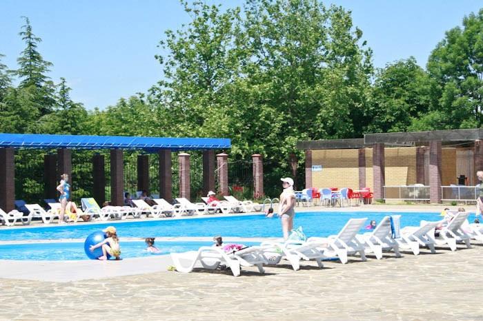 Pogostite.ru - Южный пансионат | пгт. Николаевка | 1 линия | бассейн | собственный пляж | детская площадка #5