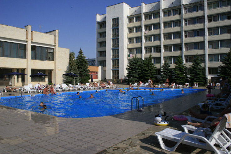 Pogostite.ru - Южный пансионат | пгт. Николаевка | 1 линия | бассейн | собственный пляж | детская площадка #2